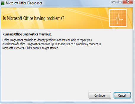 MS office diag