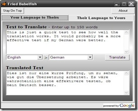 Now use Google translator on your PC without any browser | Internet
