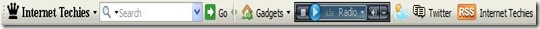 IT toolbar