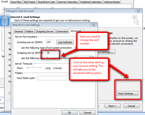 Solution For Outlook Error 550 Message Rejected Because PC Name IP