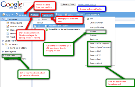 how to use google docs to create a flowchart