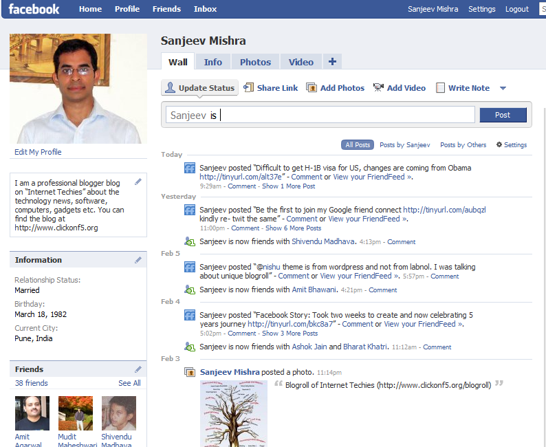 Status updates on Facebook is now public, sad news for Twitter