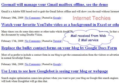 web2mail2