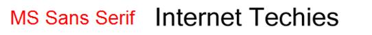 MS Sans Sarif_36_header_font