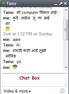Chat With Your Friends In Indian Languages Like Hindi Tamil