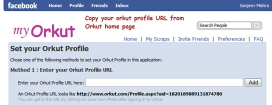 orkut application