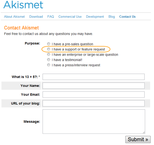 akismet_contact_form