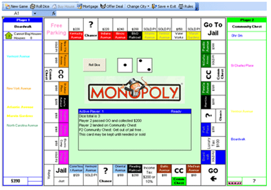 monopoly-on-excel