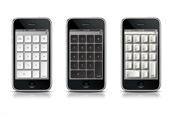 NumberKey Themes on iPhone