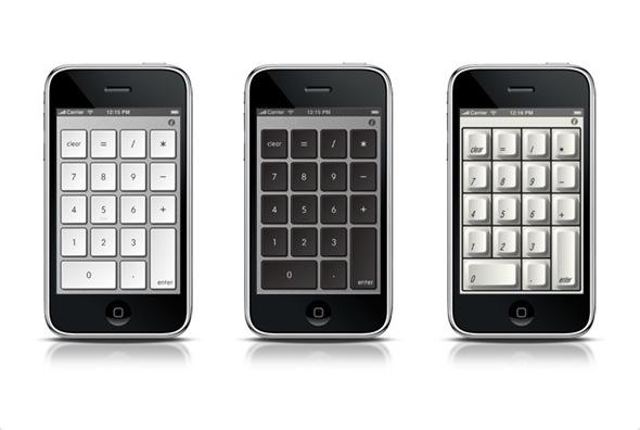 NumberKey Themes on iPhone