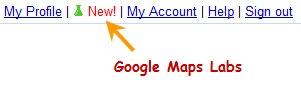 Google Maps Labs Link