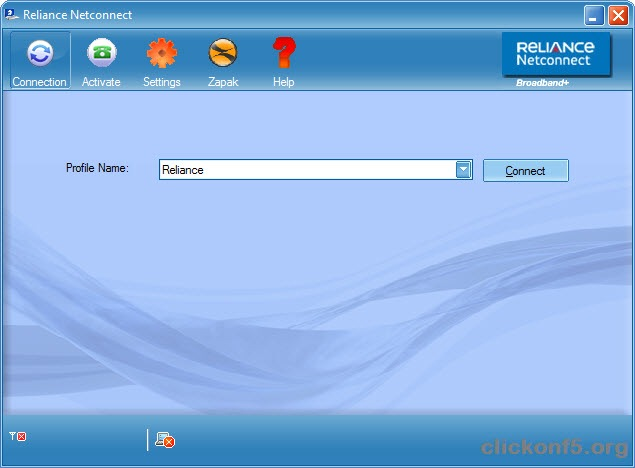 reliance_netconnect_window