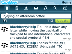 Twitter for BlackBerry