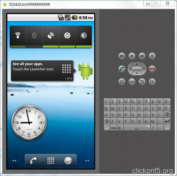 android on computer