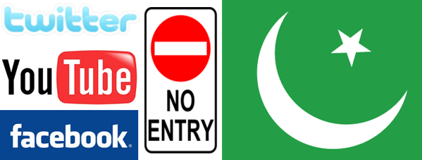 Facebook, Twitter, YouTube blocked in Pakistan