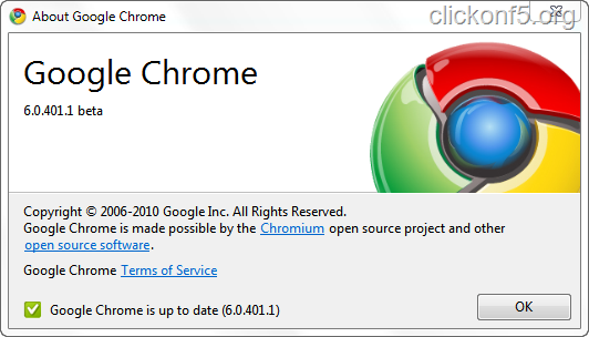 Google Chrome Beta 6 Available to Download