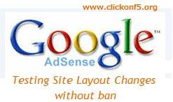 adsense testing site
