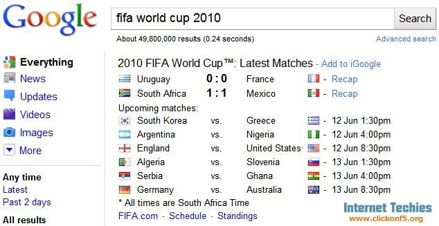 fifa world cup google