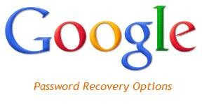 google password recovery