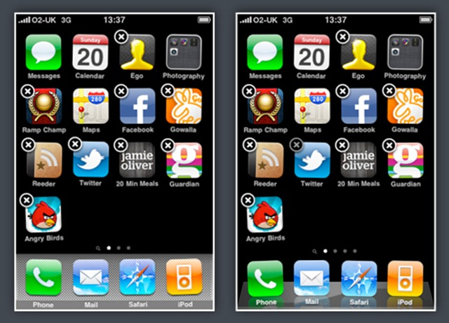 iOS 4 and Previous OS compared