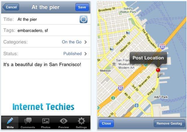 wordpress 2.5 app for iphone