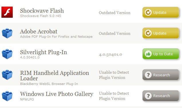 firefox plugin upgrade