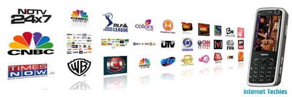 Watch TV channles on Mobile Phones