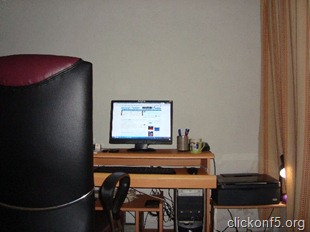 IT Workstation from different angle