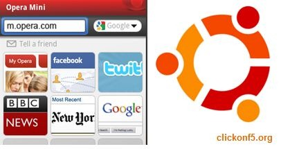 opera mini on Ubuntu