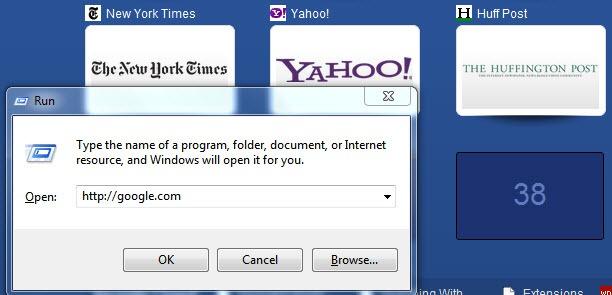 How To Enter New Address in Full-Screen Mode of Google Chrome
