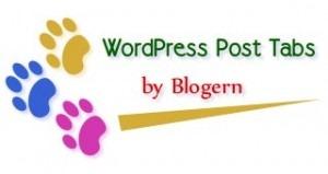 WordPress Post Tabs WP Plugin by Blogern
