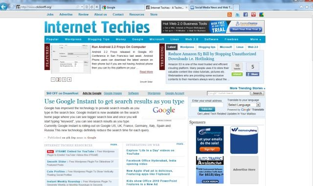 Internet Explorer 9 Beta Available to Download