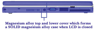 Durabook Magnesium Alloy Case