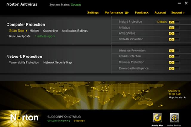 download norton antivirus for my pc