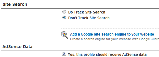 Enable AdSense Data Tracking