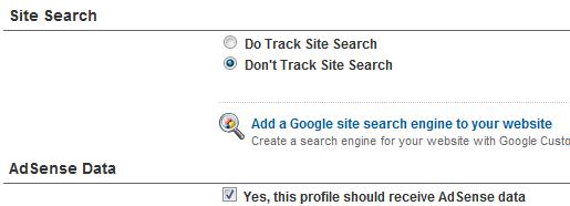 Enable AdSense Data Tracking