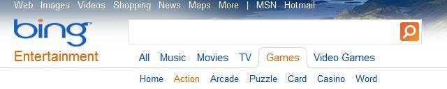 Bing Games