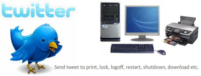 Shutdown or Restart Computer, Print Document by sending