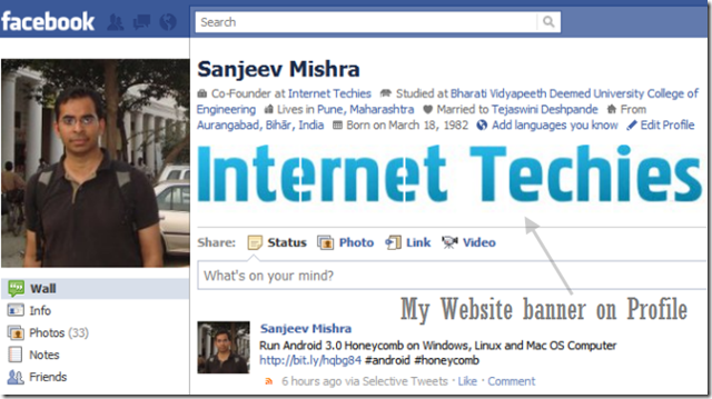Some girls page about the facebook banner images for facebook Profile-banner