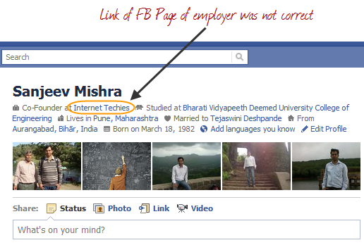 How To Add Correct Employer Facebook Page in Work