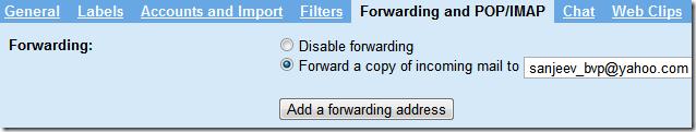 gmail-forwarding