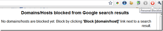 personal blocklist extension