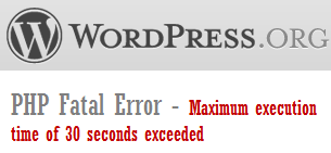 wordpress-php-fatal-error
