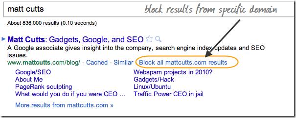 google-search-control