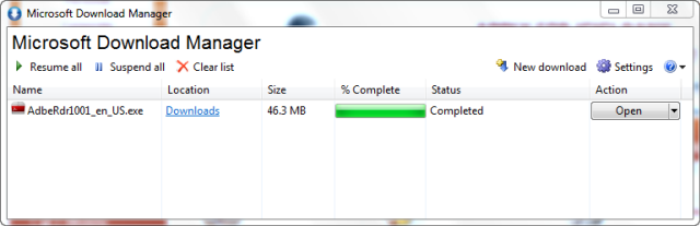 How To Speed Up Download Process with Microsoft Download Manager