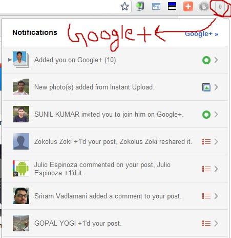 google  notification