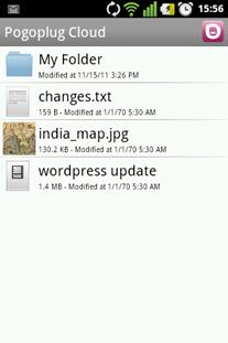 Pogoplug on Android - 3