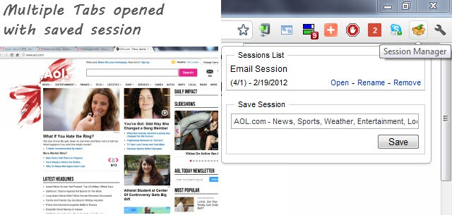 Use Web Browser as Desktop Email Client with Session Managers