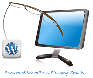 Phishing Email with WordPress Plugin Removed Message