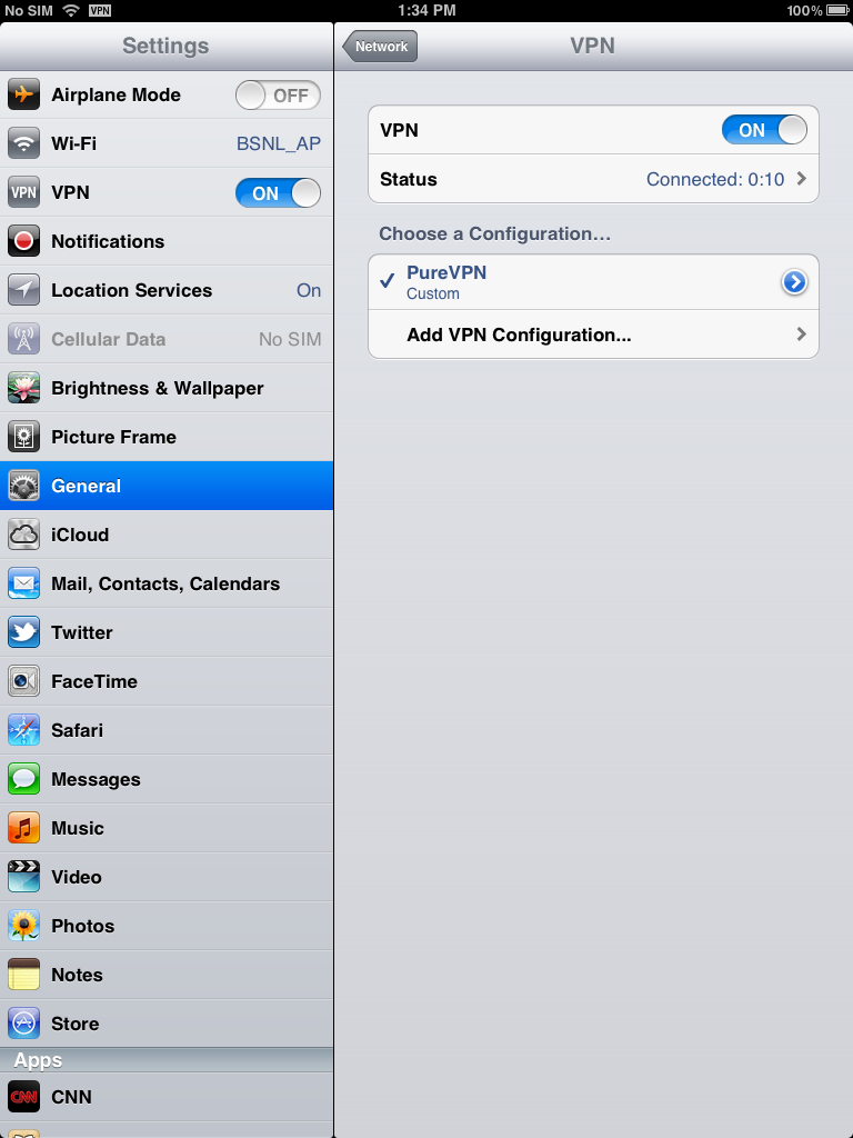 Access geo restricted sites on ipad and iphone using vpn connection vpn connection ccuart Image collections